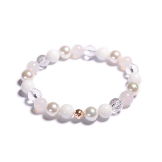 Damsky-koralkovy-naramek-bily-porcelan-shell-perly-fasetovany-kristal-mlecny-achat-ruzove-zlato-b.jpg