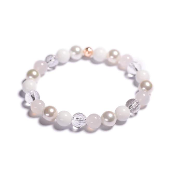 Damsky-koralkovy-naramek-bily-porcelan-shell-perly-fasetovany-kristal-mlecny-achat-ruzove-zlato-a.jpg