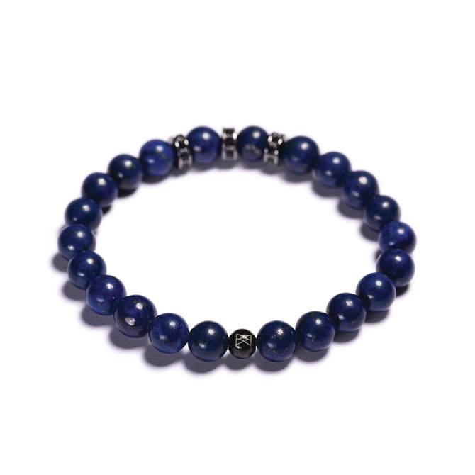 Pansky-koralkovy-naramek-modry-lapis-lazuli-stopery-guna-metal-b.JPG